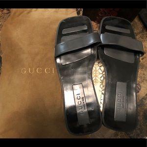 💯% Authentic Rare Gucci Slip Ons
